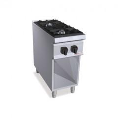 Kuchnia gazowa 2-palnikowa z szafką 19kW SG9F2M