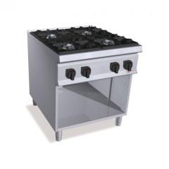 Kuchnia gazowa 4-palnikowa z szafką 34,5kW SG9F4M