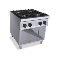 Kuchnia gazowa 4-palnikowa z szafką 48kW SG9F4MP