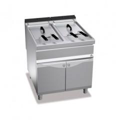 Frytownica elektryczna 2x22l 44kW z szafką E9F22-8MS 2x22l