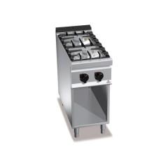 Kuchnia gazowa 2-palnikowa z szafką 16kW