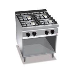 Kuchnia gazowa 4-palnikowa z szafką 32kW