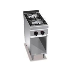 Kuchnia gazowa 2-palnikowa z szafką 19kW