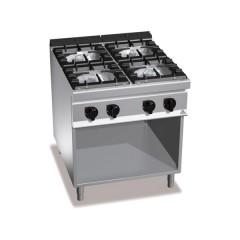 Kuchnia gazowa 4-palnikowa z szafką 34,5kW