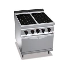 Kuchnia na podczerwień 4-strefowa z piekarnikiem elektrycznym 1/1 19,5kW E9P4P/VTR+FE1