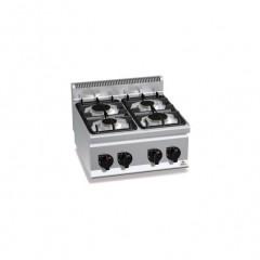 Kuchnia gazowa 4-palnikowa 12,4kW G6F4B