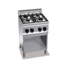 Kuchnia gazowa 4-palnikowa z szafką 12,4kW G6F4M