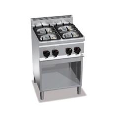 Kuchnia gazowa 4-palnikowa z szafką 19kW G6F4MPW