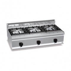 Kuchnia gazowa 3-palnikowa 31kW G6F3BH12