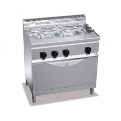 Kuchnia gazowa 3-palnikowa z piekarnikiem 28,5kW G6F3H9+T