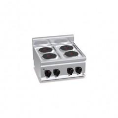 Kuchnia elektryczna 4-płytowa 8kW E6P4B