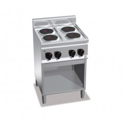 Kuchnia elektryczna 4-płytowa z szafką 8kW E6P4M