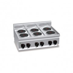 Kuchnia elektryczna 6-płytowa 12kW E6P6B