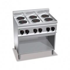 Kuchnia elektryczna 6-płytowa z szafką 12kW E6P6M