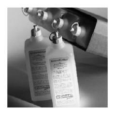 Plastikowa butelka z korkiem 1 litr
