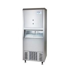 Kostkarka do lodu kruszonego i kostkowego chłodzona powietrzem 80kg/dzień W80ECL